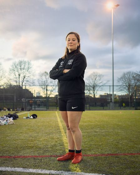 The film also features Fleur Cousens, founder of Goaldiggers.