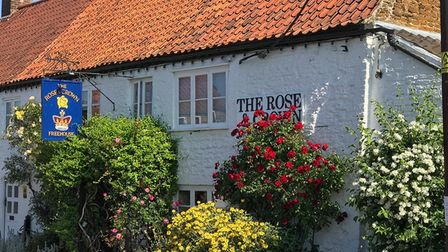 The Rose & Crown, rooms from £160 per night