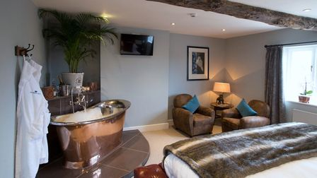 The Crown Hotel, Wells, rooms from £185, £10 per dog, per night