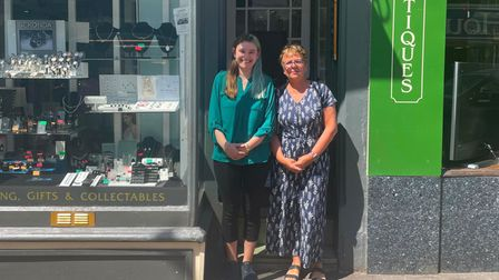 Erin and Sue of Sidmouth Jewellers