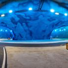 A new undersea roundabout, which forms part of the Faroe Islands' growing tunnel network