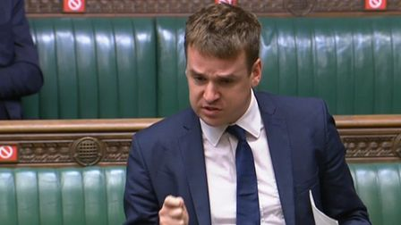 Ipswich MP Tom Hunt has secured an adjournment debate on the Orwell Bridge in Parliament. Picture: P