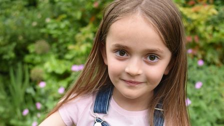 Six-year-old Beau Beck suffered a nut allergy reaction after playing out in the garden below the walnut tree in Trowse.