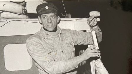 Jack Wells former firefighter and fisherman