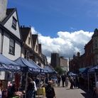 The Saints Street Market is set to return to St Peter's Street, Ipswich, this weekend