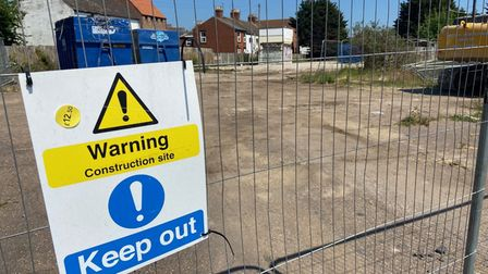Abbeville Lodge site Acle New Road