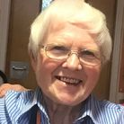 Sister Philomena Purcell BEM, who volunteers at Saint Francis Hospice.
