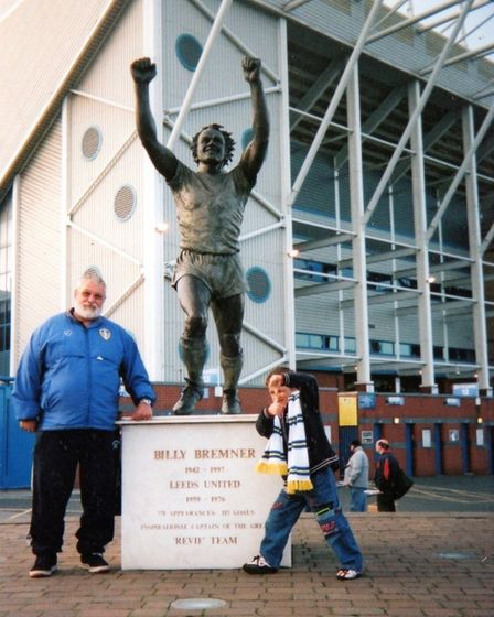 Dick Longley ran the Lowestoft Leeds United fan club and arranged trips to Elland Road, as well as around Europe.