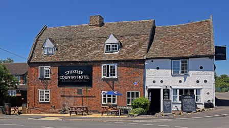 The picturesque Stukeley Country Hotel.