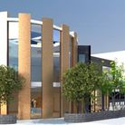 CGI of the new St Catherine's Church in Neasden after plans approved by council