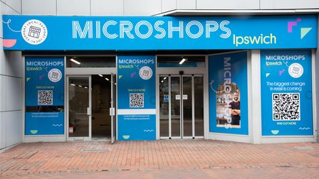 Work is underway for the new Microshops in the former Peacocks premises in Carr Street, Ipswich. Pi