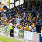 Plainmoor during the National League Semi Final Play Off match between Torquay United and Notts Coun