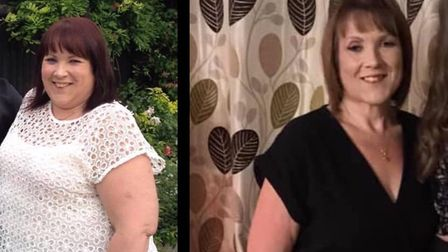 Breast cancer survivor Avril Rapley lost nearly 11 stone in five years