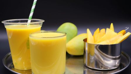 Mangoand other fruit Lassi have proved a popular treat during the recent heat wave.