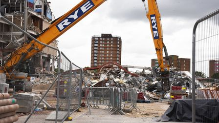 West Ham Supporters and Social Club Chairman Paul Christmas and the continued demolition of the Upto