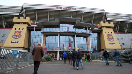 Fans make their way towards Upton Park (pic: Nick Potts/PA Wire)