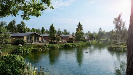 Luxury cocoons and floating lakeside pods at Clawford Lakes Resort and Spa in Devon
