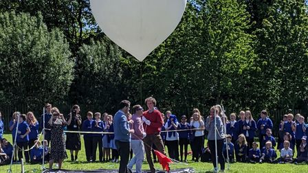 The Space Balloon launch
