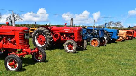 The collection was assembled over 40 years by the late Dave Vanstone, a well-known figure on the vintage tractor circuit