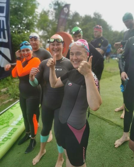 Kensal Tri Team is the biggest group training for Blenheim Palace Triathlon with more than 160 participants