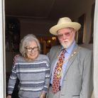 Gladys Conway, who turned 100 on Tuesday, with CllrRoy Emmett, mayor of Redbridge