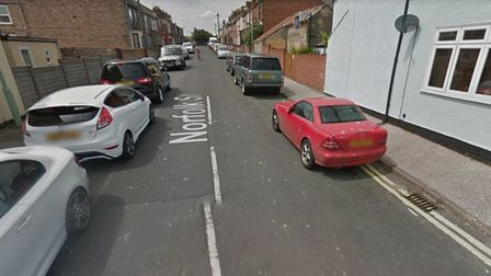 """Three men were arrested for allegedly """"breaking into a van"""" that was parked on Norfolk Street, Lowestoft."""