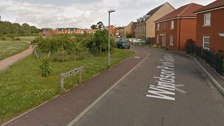A teenager was knocked unconscious in a Sprowston robbery