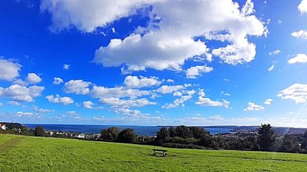 An unrivalled panorama of the inspirational Bay