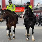 The Met are preparing for thousands of supporters at Wembley Stadium