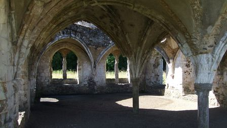Waverley Abbey Ruins is a popular film location which includes Hot Fuzz and Elizabeth, the Golden Age