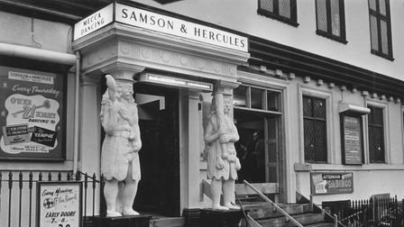 Norwich - BuildingsSamson and Hercules ballroom.Dated late 1960's ?Photograph C7164