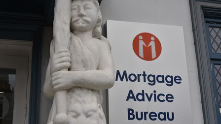 Oliver Dack of the Mortgage Advice Bureau who have moved into the old Samson and Hercules building o