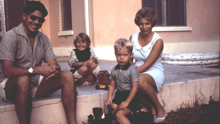 The family lived in the Bahamas between 1967 and 1969.