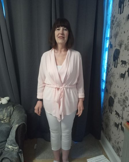 Treacy says she now feels much more confident and is back wearing jeans after more than two decades.