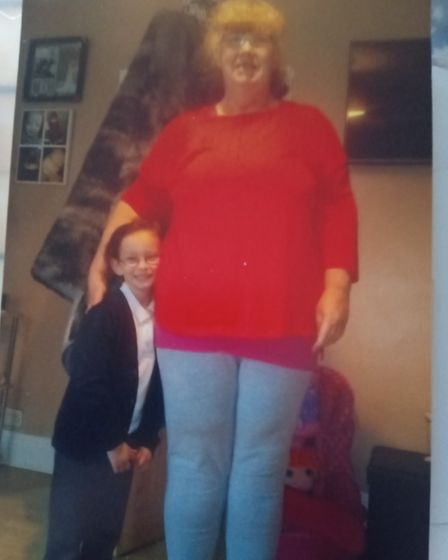 Treacy weighed more than 20st before she joined Slimming World.