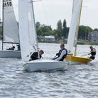 Simon Kneller and Ashley Painter of Grafham Water Sailing Club.