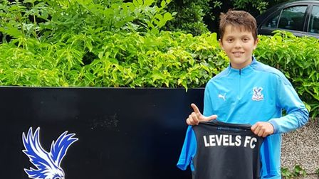Levels youngsterAri Dedinca signed with Crystal Palace