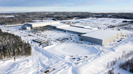Northvolt is building its lithium-ion battery cells in northern Sweden.