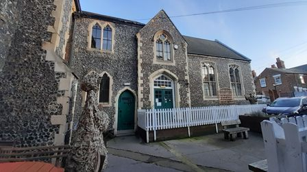 Robert Haslam is the owner of Great Yarmouth's 12th century priory.