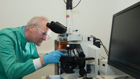Professor Bill Keevil, one of the world's leading microbiologists