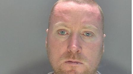 Martin Ward from Royston was jailed for injuring another man with a glass bottle at a hotel room in Stevenage
