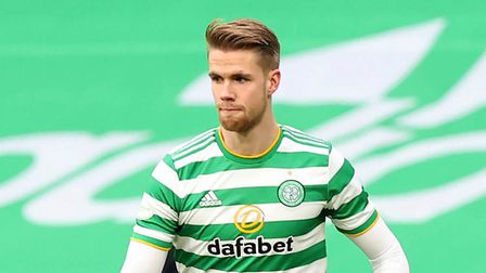 File photo dated 29-11-2020 of Celtic's Kristoffer Ajer. Issue date: Friday June 4, 2021.