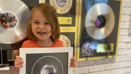 Four year old wins music award