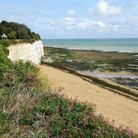 Stone Bay in Broadstairsis one of the many beaches in Kent that have been awarded a prestigious Blue Flag Award in 2021