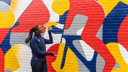 Former Olympic champion Denise Lewis kickstarts inspiring 'art-relay' ahead of the Tokyo Games