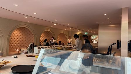 Haute Dolci's spacious restaurant is one for those with a sweet tooth