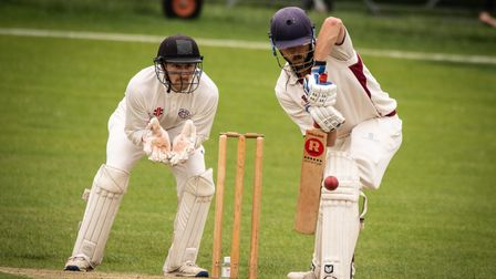 North Middlesex in action against local rivals Hampstead