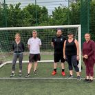 Royston Town Youth FC parents and coaches credit to Royston Town Youth FC