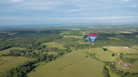 Get a bird's eye view of the West Sussex countryside