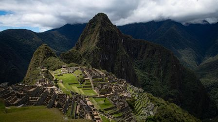 Machu Picchu in Peru, one of the stops on Samuel Whitbread's cancelled Camps International trip